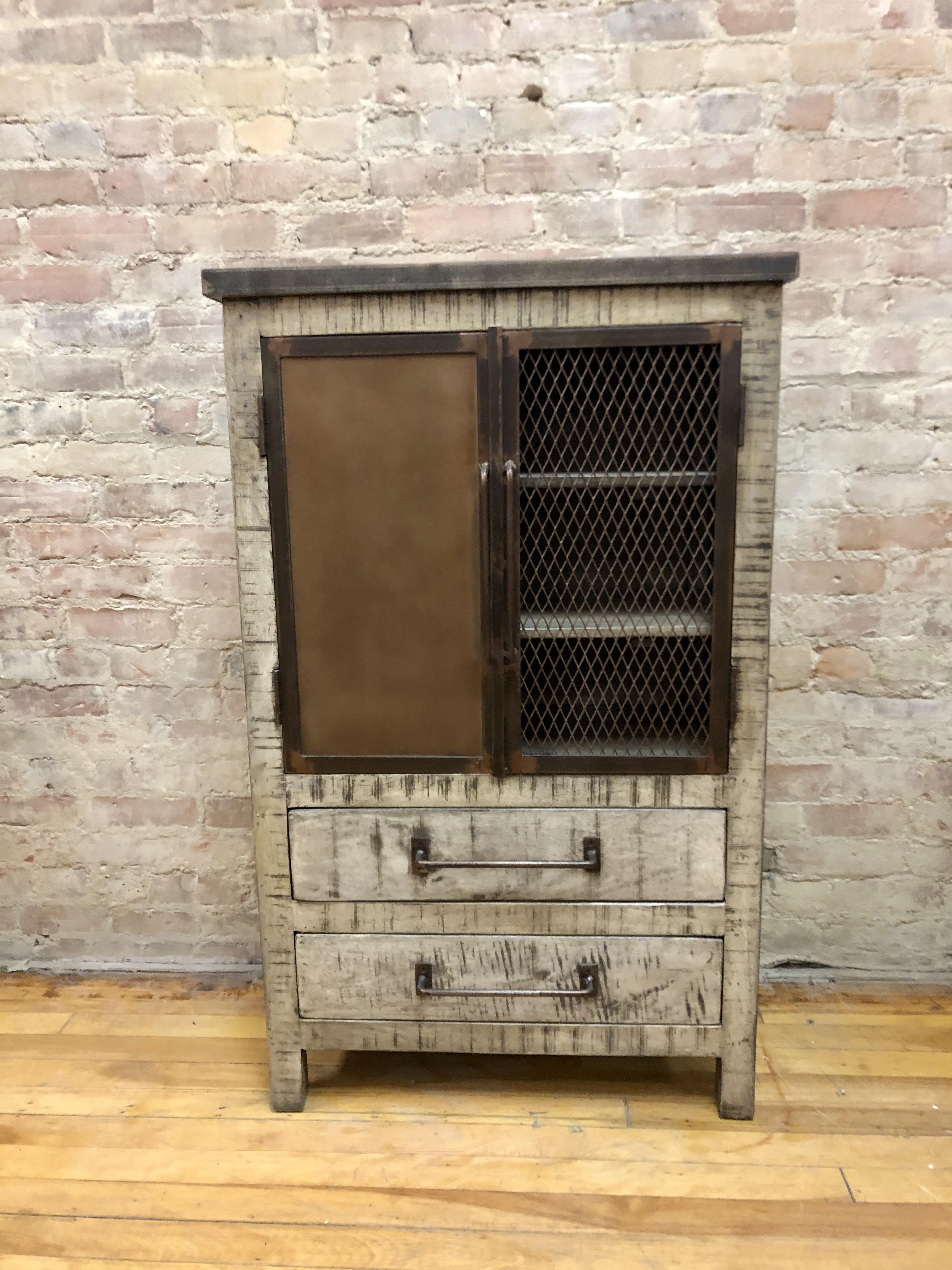 CABINET - TWO DOORS, TWO DRAWERS